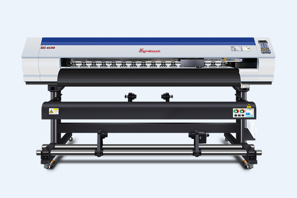 天彩4180微压电式大幅面打印机